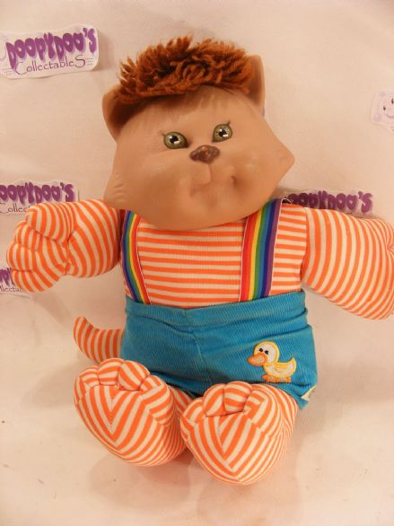 VINTAGE 80'S CABBAGE PATCH CABBAGE PATCH KOOSA, CAT.